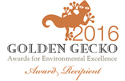 Strike Drilling won the Golden Gecko for enviornmental excellence 2016