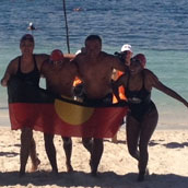 NSA All Aboriginal Rottnest Channel Swim