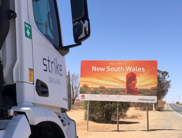 Get ready NSW, Strike Drilling has arrived