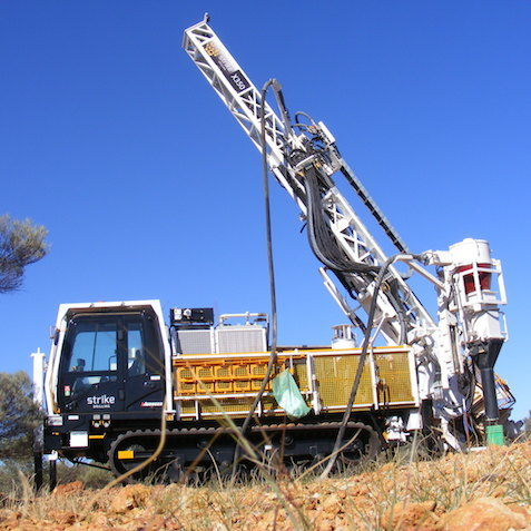 Strike Drilling's track rig takes on Great Sandy Desert
